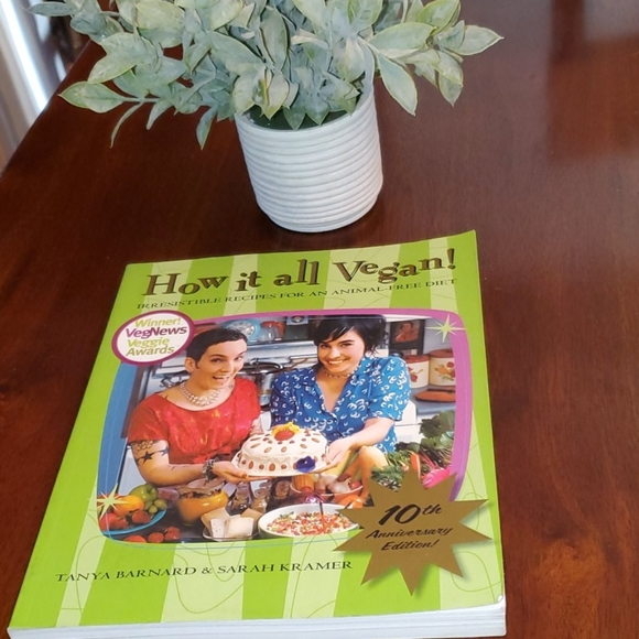 New softcover book How It All Vegan